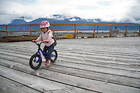 Rider - Molly Milner (2 years old), Haines Alaska
