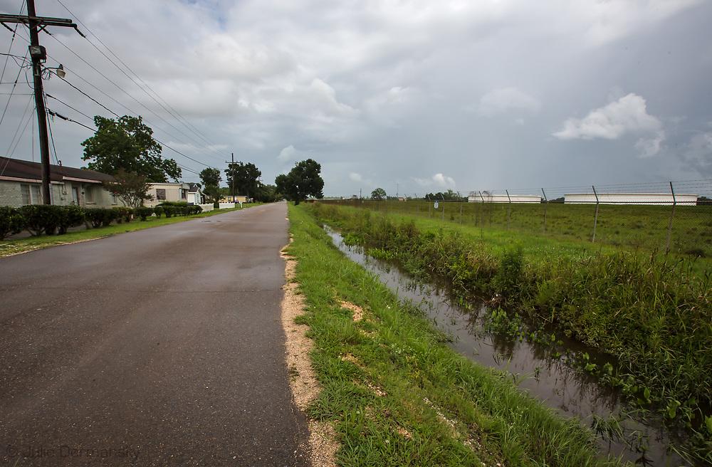 St. James Parrish, where Energy Transfer Partner's Bayou Bridge pipeline will end if built.