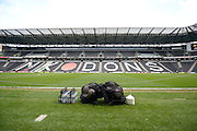 Stadium MK during the Sky Bet Championship match between Milton Keynes Dons and Rotherham United at stadium:mk, Milton Keynes, England on 9 April 2016. Photo by Dennis Goodwin.