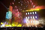 FML 2009.spectacle son et lumière.Pointe à Callière
