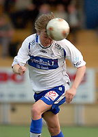 Vallhall 21.04.2003. Fotball herrer, 1. divisjon. Skeid Fotball mot FK Haugesund (3-1). Christian Grindheim scoret for Haugesund.<br /> Foto: Geir Egil Skog, Digitalsport
