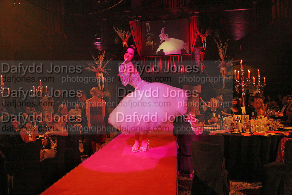 Dita von Teese, The Blush Ball, Natural History Museum, London<br />
