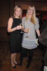 Left to right, ALISON POOLE and LADY MARIA BALFOUR at the Lighthouse Gala Auction in aid of the Terence Higgins Trust held at Christie's, St.James's, London on 12th March 2007.<br /><br />NON EXCLUSIVE - WORLD RIGHTS
