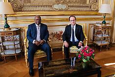 Paris: President Hollande Receives President of The Republic of Ghana, 27 Sept. 2016
