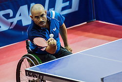 TOLBA Hassan of Egypt during SPINT 2018 Table Tennis world championship for the Disabled, Day two, on October 18th, 2018, in Dvorana Zlatorog, Celje, Slovenia. . Photo by Grega Valancic / Sportida