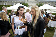 Susie Stanford; Lady Alexandra Gordon-Lennox, The Cartier Style et Luxe Concours lunch at the Goodwood Festival of Speed. July 13, 2008  *** Local Caption *** -DO NOT ARCHIVE-© Copyright Photograph by Dafydd Jones. 248 Clapham Rd. London SW9 0PZ. Tel 0207 820 0771. www.dafjones.com.
