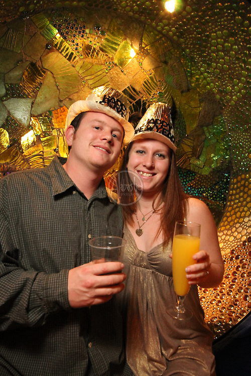 The 9th Annual Indulgence 2011 at the EMP: Seattle's Largest New Year's Eve Bash.   VIP Platinum Lounge and guests.