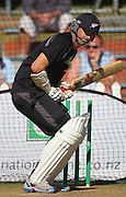 Stephen Fleming prepares for batting practice.<br /> National Bank Test Match Series, New Zealand v England, Black Caps Nets Practice. Allied Prime Basin Reserve, New Zealand. Wednesday, 12 March 2008. Photo: Dave Lintott/PHOTOSPORT