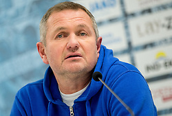 Matjaz Kek, head coach of HNK Rijeka during press conference after the football match between HNK Rijeka and HNK Hajduk Split in Round #15 of 1st HNL League 2016/17, on November 5, 2016 in Rujevica stadium, Rijeka, Croatia. Photo by Vid Ponikvar / Sportida