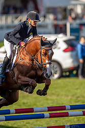 Donckers Karin, BEL, Leipheimer van't Verahof<br /> With breeders, Peter van Damme, Joris De Brabander<br /> Mondial du Lion - Le Lion d'Angers 2018<br /> © Hippo Foto - Dirk Caremans<br /> 21/10/2018
