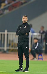 NANNING, CHINA - Thursday, March 22, 2018: Wales' new manager Ryan Giggs during the opening match of the 2018 Gree China Cup International Football Championship between China and Wales at the Guangxi Sports Centre. (Pic by David Rawcliffe/Propaganda)