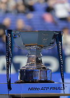 Tennis - 2017 Nitto ATP Finals at The O2 - Day Eight<br /> <br /> Mens Doubles: Final : Henri Kontinen (Finland) & John Peers (Australia) Vs Lukasz Kubot (Poland) & Marcelo Melo (Brazil) <br /> <br /> The ATP Doubles World Trophy at the O2 Arena<br /> <br /> COLORSPORT/DANIEL BEARHAM