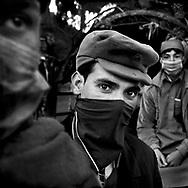 Victims of earthquake - Boys