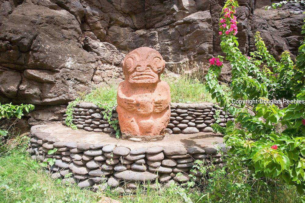 Tiki, Vaipaee, Ua Huka, Marquesas Islands, French Polynesia<br />