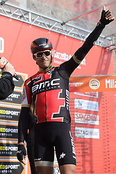 March 18, 2017 - San Remo, Italie - SANREMO, ITALY - MARCH 18 : VAN AVERMAET Greg (BEL) Rider of BMC Racing Team pictured during the UCI WorldTour 108th Milan - Sanremo cycling race with start in Milan and finish at the Via Roma in Sanremo on March 18, 2017 in Sanremo, Italy, 18/03/2017 (Credit Image: © Panoramic via ZUMA Press)