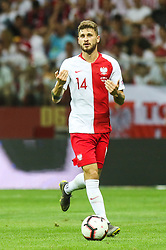 June 10, 2019 - Warsaw, Poland - Mateusz Klich of Poland during the UEFA Euro 2020 qualifier Group G football match Poland against Israel on June 10, 2019 in Warsaw, Poland. (Credit Image: © Foto Olimpik/NurPhoto via ZUMA Press)