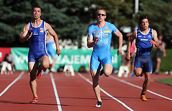 Bostjan Fridrih, Matic Osovnikar and Janez Sifkovic at Athletic National Championship of Slovenia, on July 19, 2008, in Stadium Poljane, Maribor, Slovenia. (Photo by Vid Ponikvar / Sportal Images).