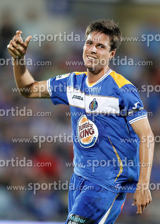 23.09.2010, Coliseum Alfonso Perez, Madrid, ESP, Primera Division, FC Getafe vs FC Malaga, im Bild Getafe's Manu del Moral dejected during La liga match. EXPA Pictures © 2010, PhotoCredit: EXPA/ Alterphotos/ Alvaro Hernandez +++++ ATTENTION - OUT OF SPAIN / ESP +++++ / SPORTIDA PHOTO AGENCY