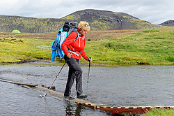 09-07-2014 ISL: Iceland Diabetes Challenge Dag 5, Emstrur<br /> Van Alftavatn naar Emstrur / Sandra Ciere-Koolhaas