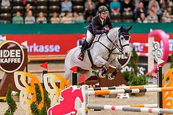 JUNG Michael (GER), Zandro de Laubry Z<br /> Leipzig - Partner Pferd 2020<br /> FUNDIS Youngster Tour<br /> 2. Qualifikation für 7jährige Pferde <br /> Springprfg. nach Fehlern und Zeit, int.<br /> Höhe: 1.35 m<br /> 18. Januar 2020<br /> © www.sportfotos-lafrentz.de/Stefan Lafrentz