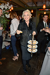 AMANDA ELIASCH at The Ivy Kensington Brasserie International Women's Day & Terrace Launch Party held at The Ivy Kensington Brasserie, 96 Kensington High Street, London on 8th March 2016.