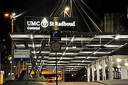 Nederland, Nijmegen, 24-1-2009Ingang tot het UMC Radboud ziekenhuis.Foto: Flip Franssen