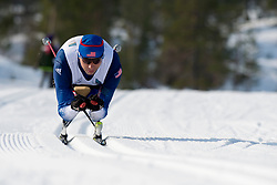 SOULE Andrew, USA, Long Distance Cross Country, 2015 IPC Nordic and Biathlon World Cup Finals, Surnadal, Norway