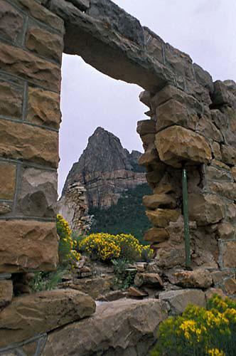 Driggs Mansion, Drigg's, Unaweep Canyon, Thimble Rock, Western Slope, Colorado