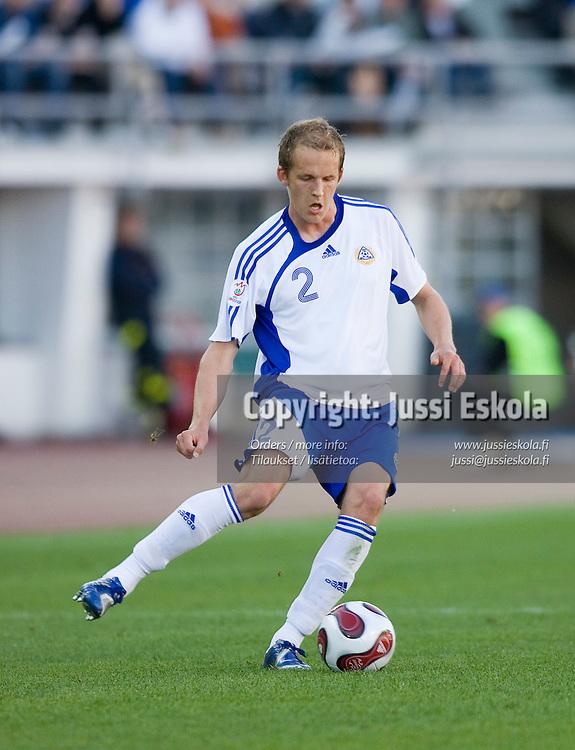 Petri Pasanen. Suomi-Serbia, EM-karsinta, Olympiastadion. Helsinki 2.6.2007. Photo: Jussi Eskola