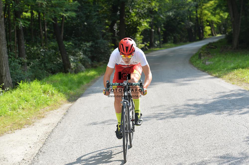 Ciclismo giovanile, 10A Coppa di Sera, Esordienti Primo Anno Maschile, Borgo Valsugana 10 settembre 2016 <br /> Oioli Manuel<br /> © foto Daniele Mosna