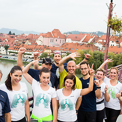 20170927: SLO, Marathon - Trening v okviru akcije Predani korakom z Zavarovalnico Sava