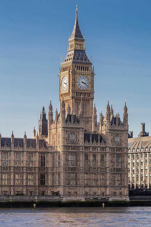 Big Ben at Westminster, London, United Kingdom