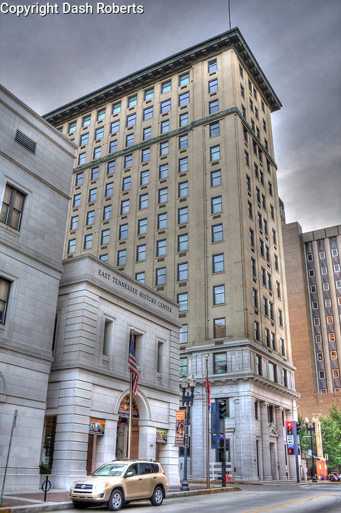 The Holston Building located on Gay Street in downtown Knoxville, Tennessee was  built in 1913 as a bank and office building. The Holston is now a residential condominium complex with 43 units.