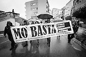 Manifestazione Mo Basta - Potenza 08.11.14