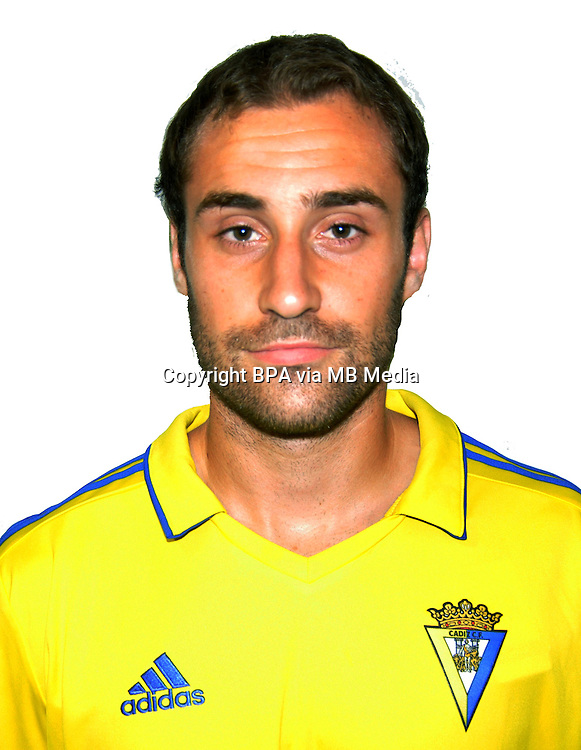 Spain - La Liga B 123 _ 2016-2017 / <br /> ( Cadiz C.F.) - <br /> Gorka Santamaria Nos