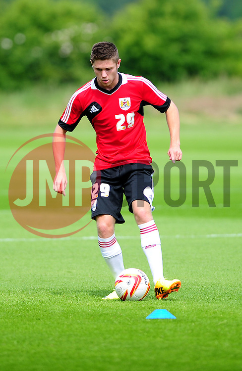 Bristol City's Wes Burns - Photo mandatory by-line: Dougie Allward/JMP - Tel: Mobile: 07966 386802 27/06/2013 - SPORT - FOOTBALL - Bristol -  Bristol City - Pre Season Training - Npower League One