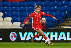 CARDIFF, WALES - Friday, November 24, 2017: Wales' Kayleigh Green during the FIFA Women's World Cup 2019 Qualifying Round Group 1 match between Wales and Kazakhstan at the Cardiff City Stadium. (Pic by David Rawcliffe/Propaganda)