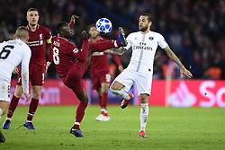November 28, 2018 - Paris, France, France - Dani Alves (PSG) vs Naby Keita  (Credit Image: © Panoramic via ZUMA Press)