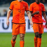 NLD/Amsterdam/20121114 - Vriendschappelijk duel Nederland - Duitsland, Ron Vlaar en Bruno Martins Indi