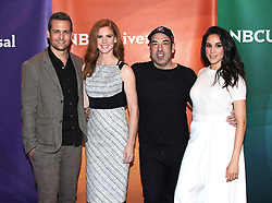 August 1, 2011 Los Angeles, Ca. Sarah Rafferty, Rick Hoffman, Meghan Markle and Patrick J. Adams NBC Universal Press Tour All Star Party held at The Bazaar in the SLS Hotel © Vince Flores / AFF-USA.COM. 01 Aug 2011 Pictured: Gabriel Macht, Sarah Rafferty, Rick Hoffman and Meghan Markle. Photo credit: MEGA TheMegaAgency.com +1 888 505 6342