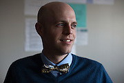 Matt Townsley, Director of Instruction and Technology at Solon Community Schools in Solon, Iowa, poses for a portrait on Tuesday, March 8, 2016.
