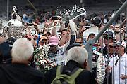 Tony Kanaan (Hydroxycut KV Racing) winner of the 2013 Indianapolis 500. Indianapolis Motor Speedway, Indina USA. Sunday 26 May 2013. Photo Clay Cross / photosport.co.nz