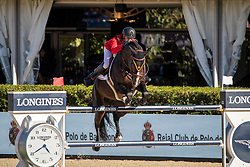 Guery Jerome, BEL, Quel Homme de Hus<br /> FEI Jumping Nations Cup Final<br /> Barcelona 2019<br /> © Hippo Foto - Dirk Caremans<br />  03/10/2019