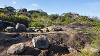 Rocky Outcrops in Yala National Park, Sri Lanka