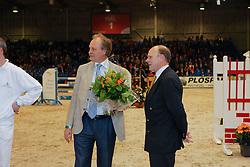 Visser Ger en Visser Henk<br />  KWPN Hengstenkeuring 2009<br /> © Dirk Caremans