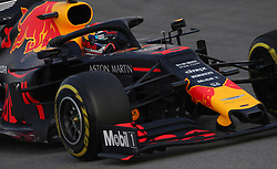 Red Bull's Pierre Gasly during day two of pre-season testing at the Circuit de Barcelona-Catalunya.