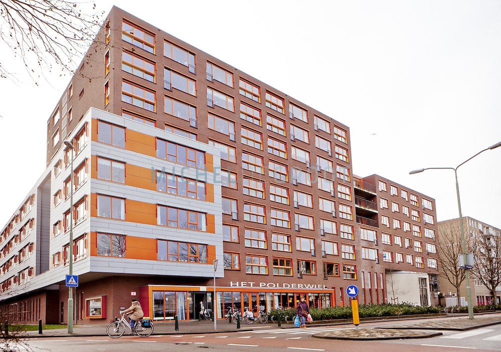 Wielborgh lokatie Het Polderwiel in Dordrecht.