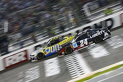 September 22, 2018 - Richmond, Virginia, United States of America - William Byron (24) battles for position during the Federated Auto Parts 400 at Richmond Raceway in Richmond, Virginia. (Credit Image: © Chris Owens Asp Inc/ASP via ZUMA Wire)