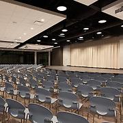 School auditorium and multi-purpose room.