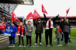Flagbearers prior to kick off - Mandatory by-line: Ryan Hiscott/JMP - 22/02/2020 - FOOTBALL - Ashton Gate - Bristol, England - Bristol City v West Bromwich Albion - Sky Bet Championship